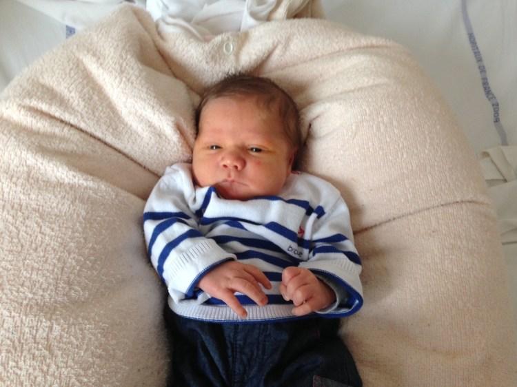 Maxime, né le 20 octobre 2014