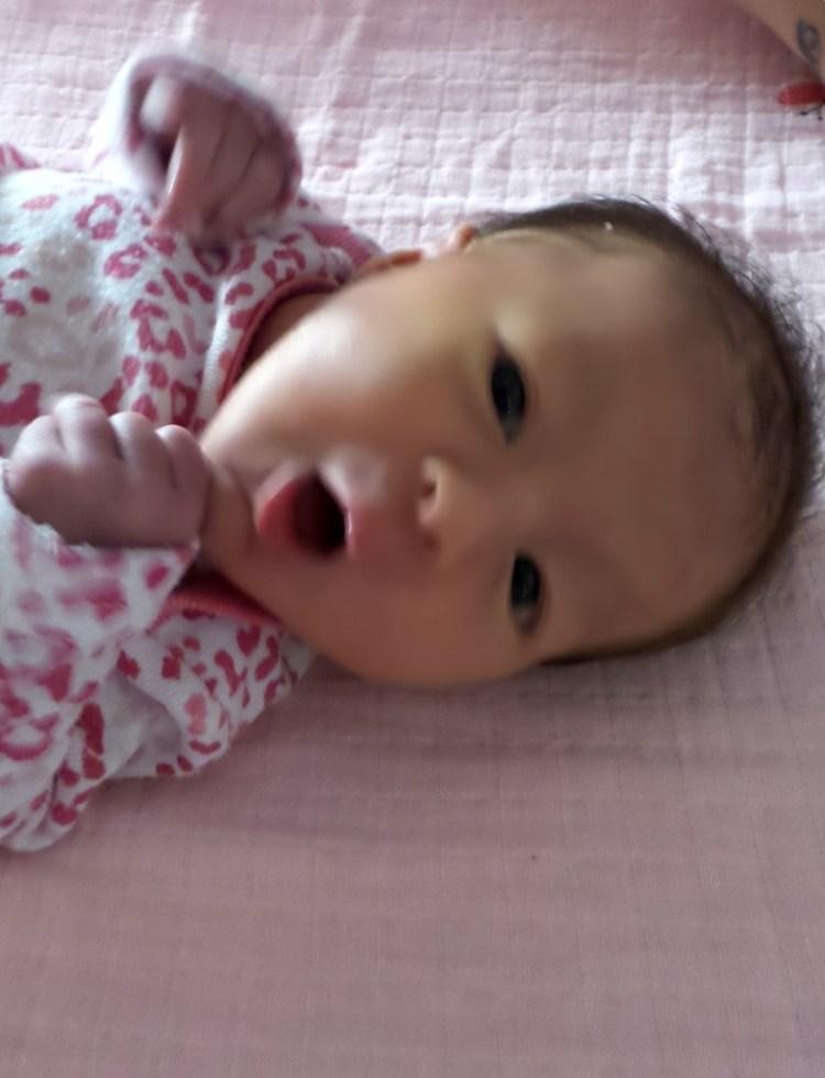 Rose, née le 28 octobre 2014
