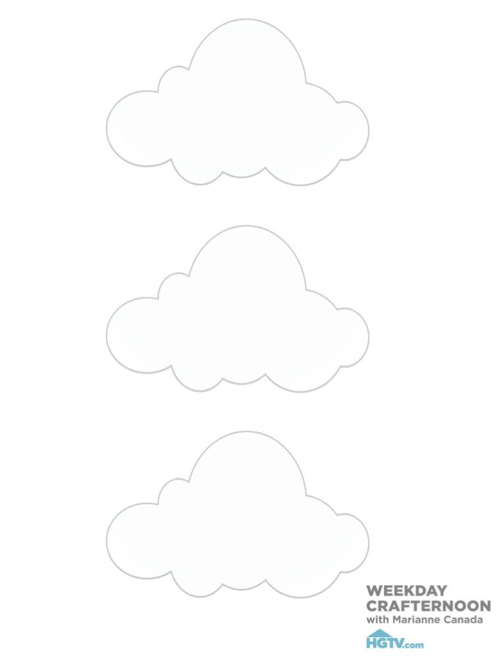 diy bebe mobile nuage blanc patron 3
