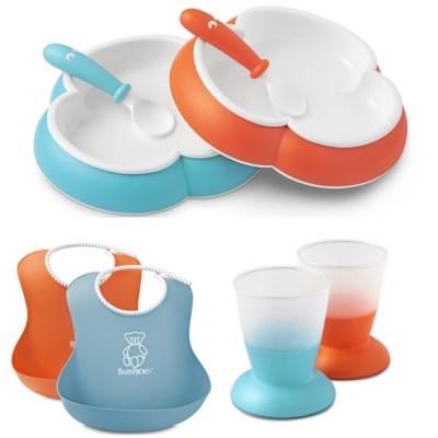 ensemble babybjorn vaisselle bebe verre assiette cuillere bavoir