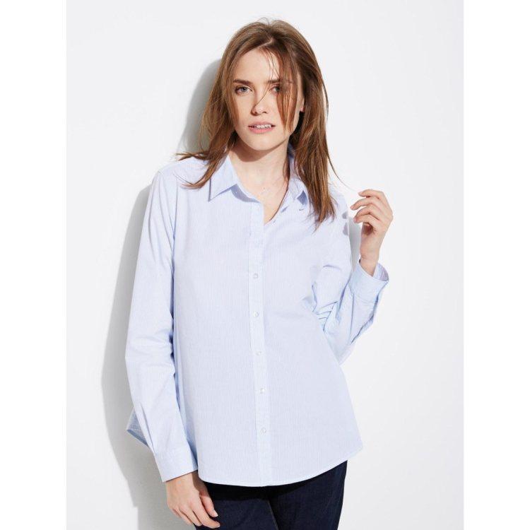 Chemise blanche de grossesse La Redoute
