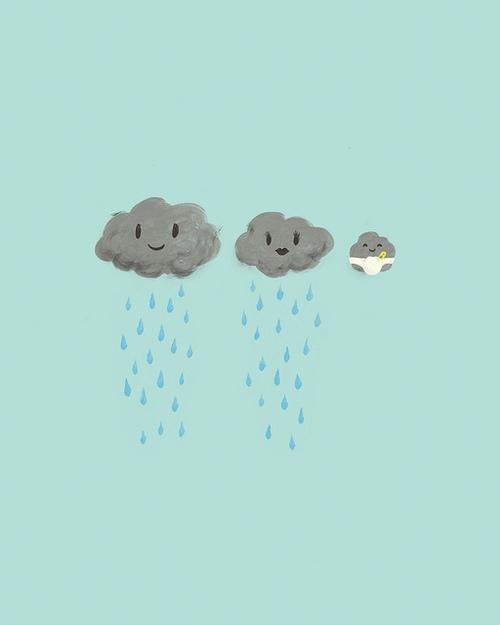 illustration nuages