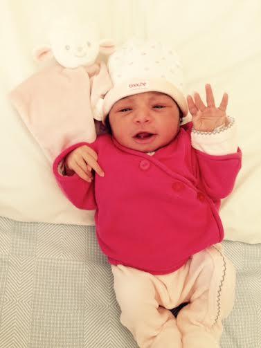 Clara, née le 9 juillet 2015
