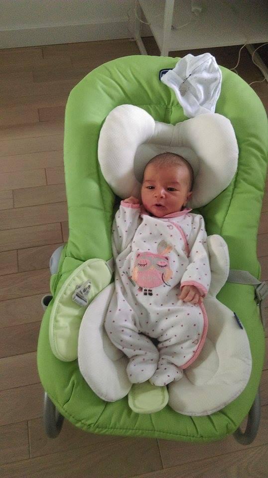 Emilie, née le 19 juillet 2015