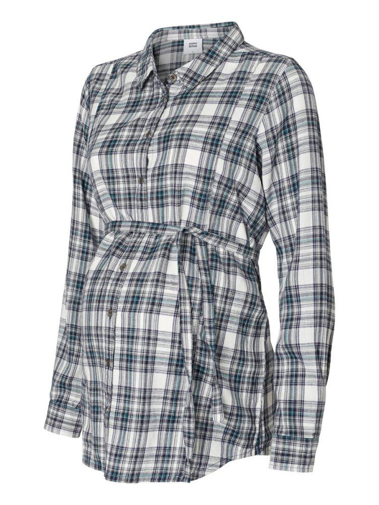 T-Shirt à carreaux, Mamalicious, 34.95€