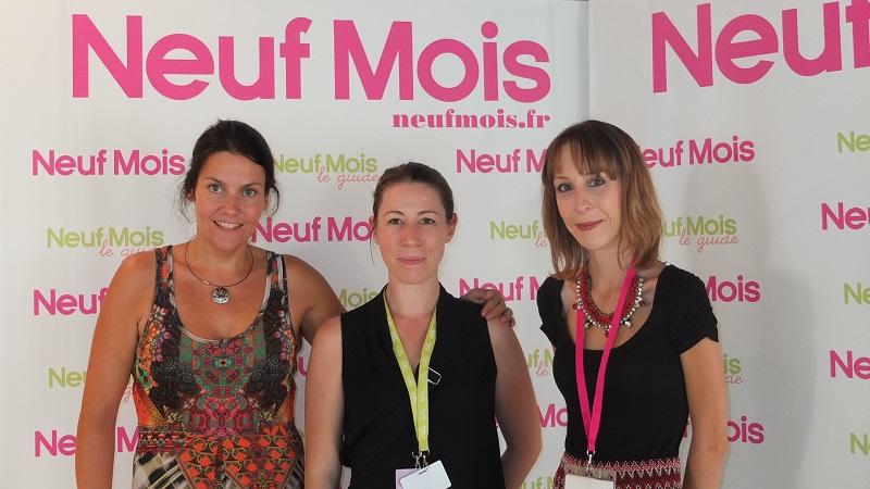 Céline Simon de Sagam et Vanessa de Neuf Mois