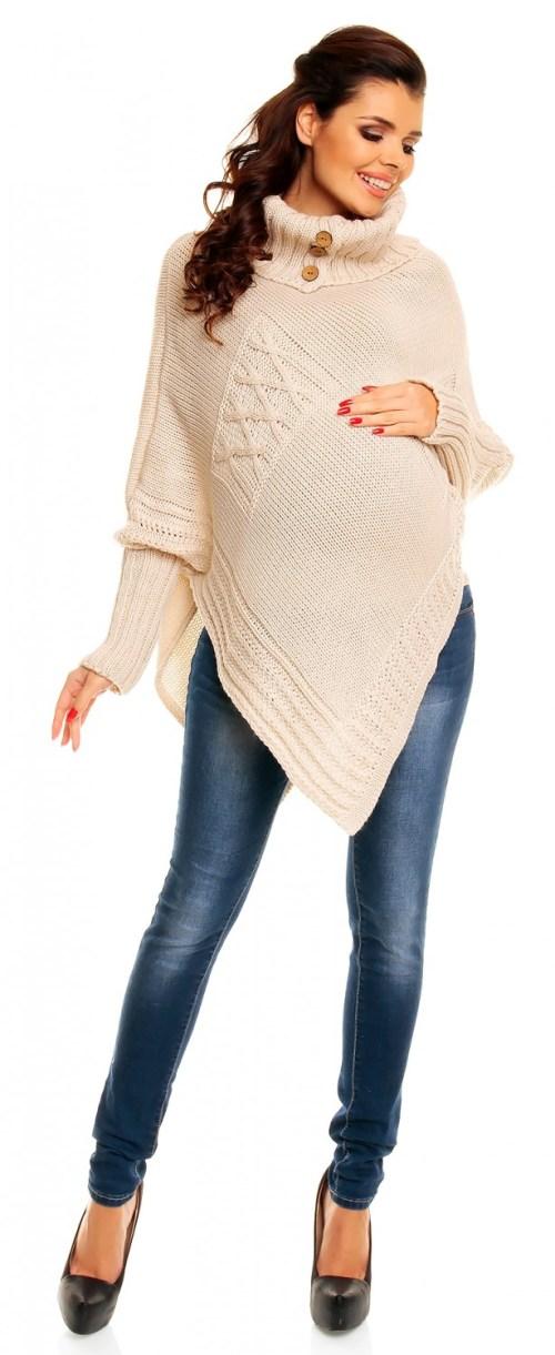 Poncho de maternite new look