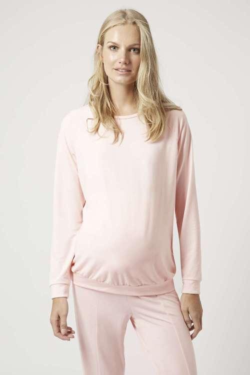 haut de pyjama rose