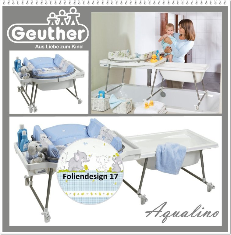 Geuther Aqualino 4830 017 Plan a  langer Bassin