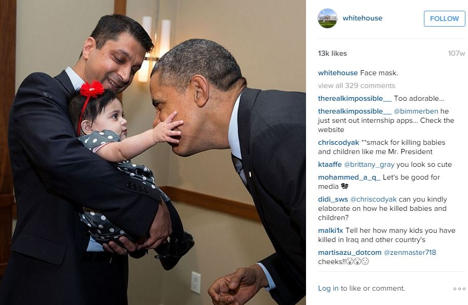 ©The White House/Instagram