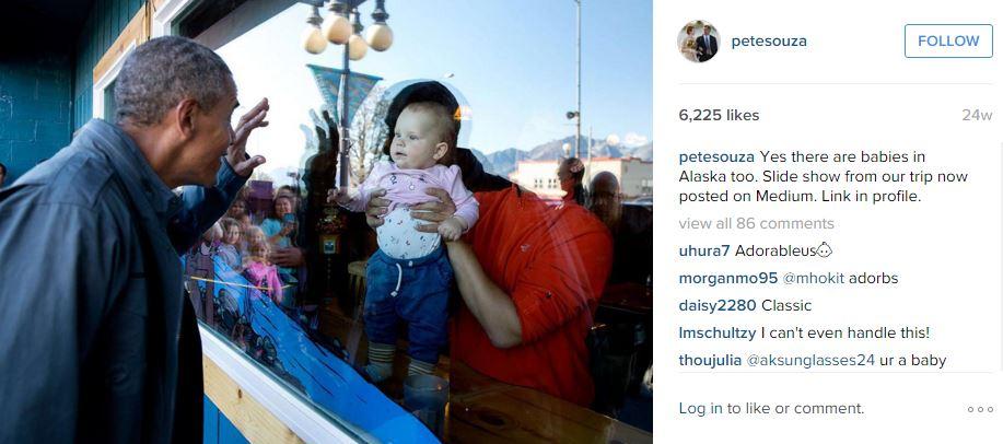 ©PeteSouza The White House/Instagram