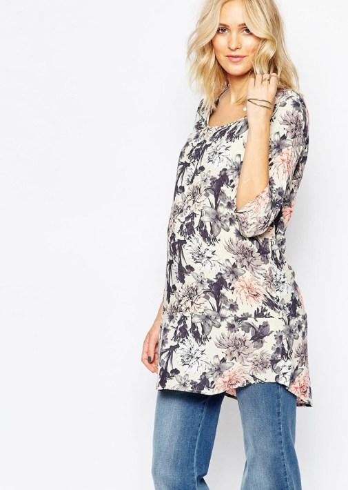 blouse fleurie asos