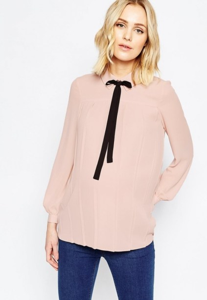 blouse rose quartz asos maternity 44,99 euros