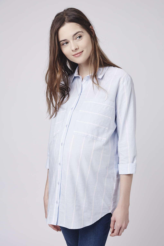 10 id es mode pour glisser du bleu serenity dans votre dressing de future maman - Porte chemise dressing ...
