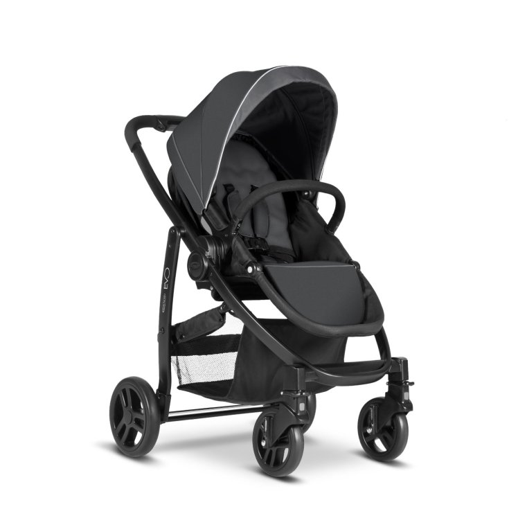Graco Poussette Evo Travel System - Charcoal