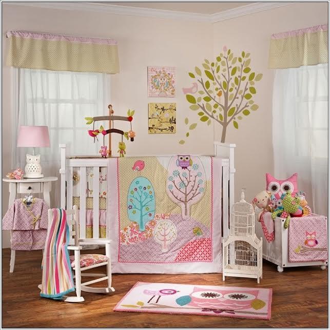 chambre bb pastel rose et vert