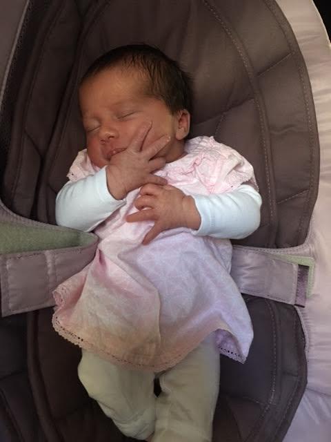 Eloane est née le 18 avril