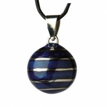 bola mexicain lignes bleu lunes et lutins