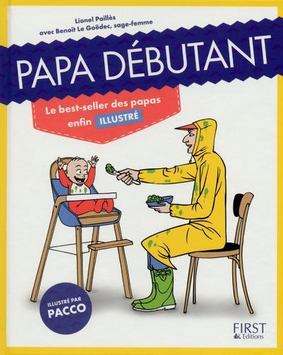 papa debutant lionel pailles benoit le goedec bd pacco