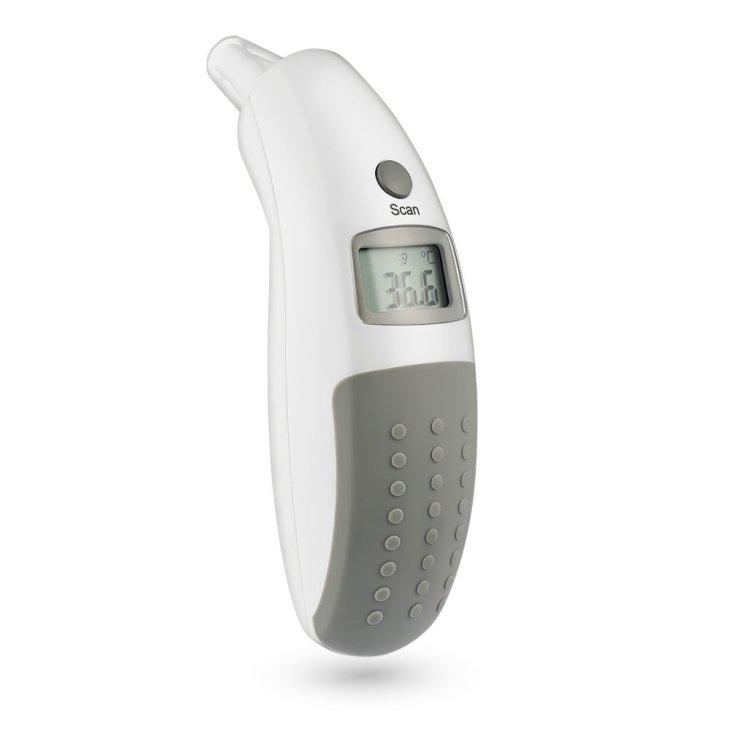 AVANTEK Thermometre bebe Enfant Adult Infrarouge Intra-Auriculaire Oreille Electronique Digital