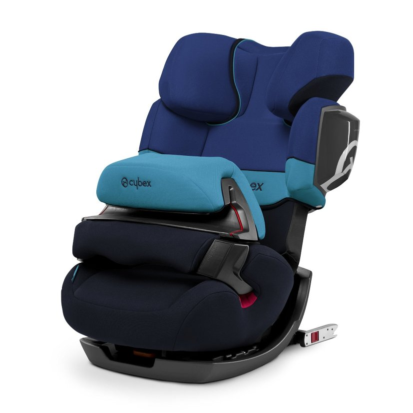 Cybex Siege Auto Pallas 2-Fix - Groupe 1-2-3, Blue moon