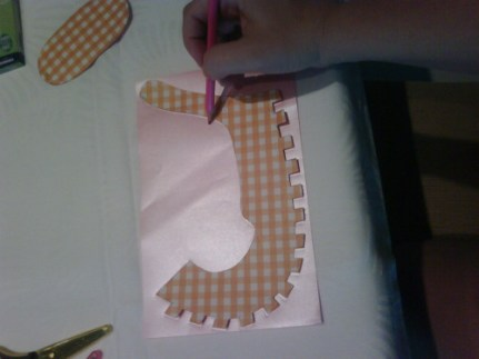 DIY babyshower mini souliers etape 1