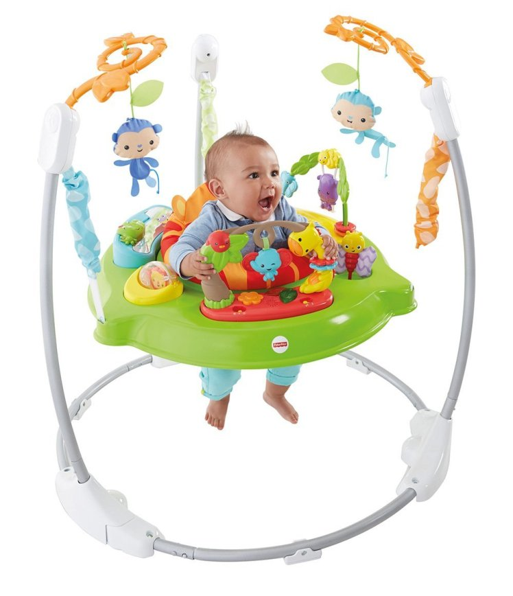 Fisher-Price Jumperoo Jungle Sons Lumieres Jouet Musical