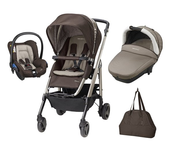 bebe Confort Poussette Combinee Trio Loola Excel Collection 2016 Earth Brown