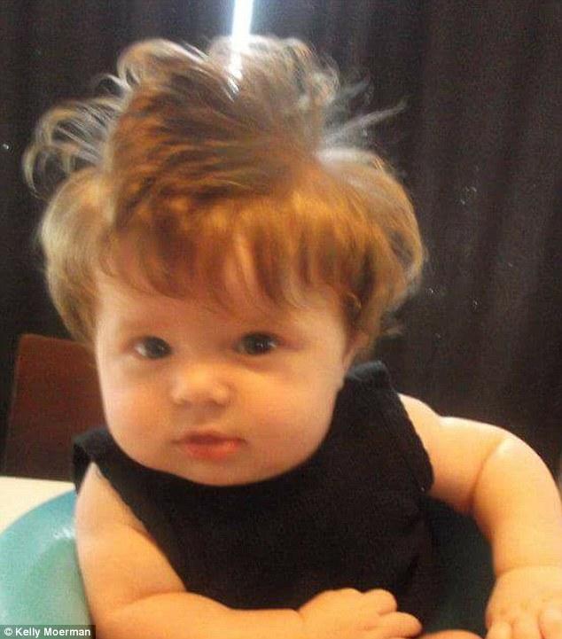 taj bebe cheveux fous