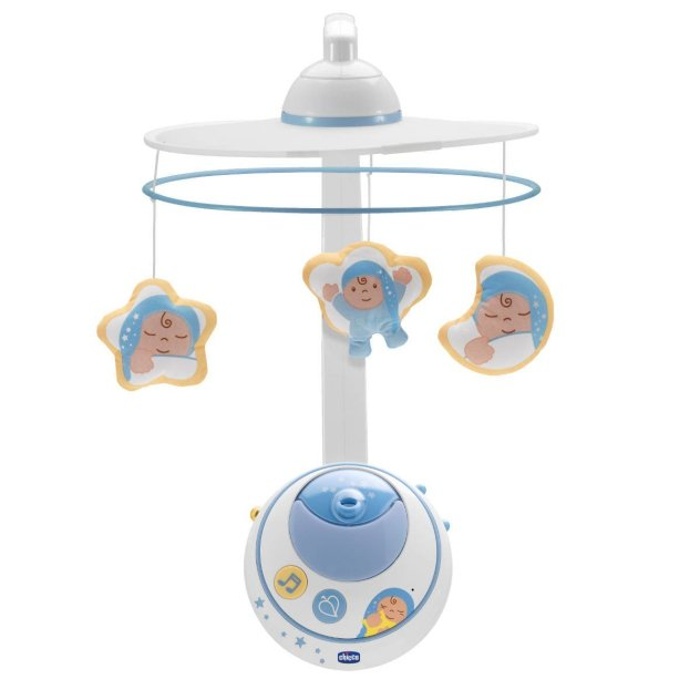 Chicco Jouet eveil Mobile Double Projection First Dreams Bleu Collection 2014