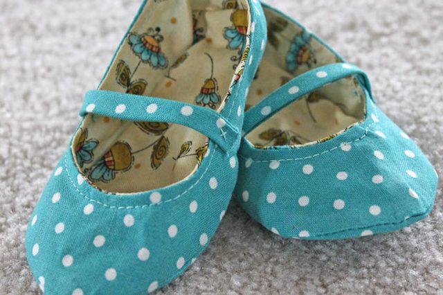 DIY chaussures bebe fini 2