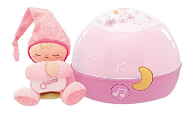 Chicco - 00002427100000 - Lampe Magic Projection First Dreams - Veilleuse - Rose
