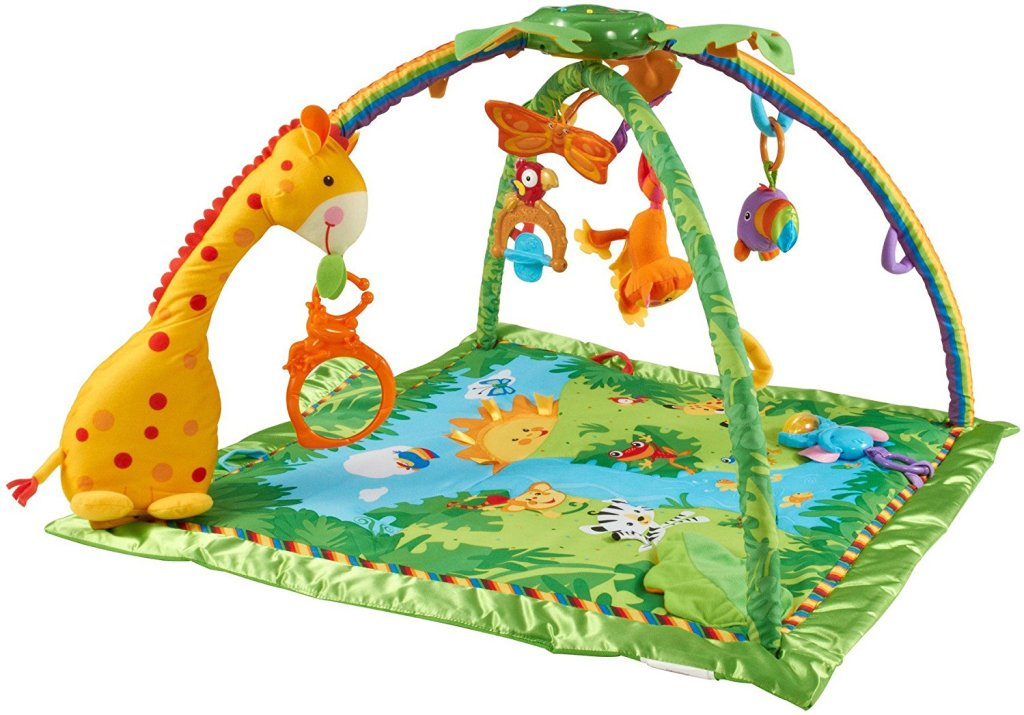 Tapis de La Jungle Fisher Price