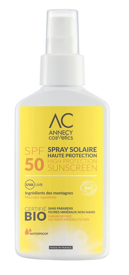 Crème solaire Annecy cosmetics