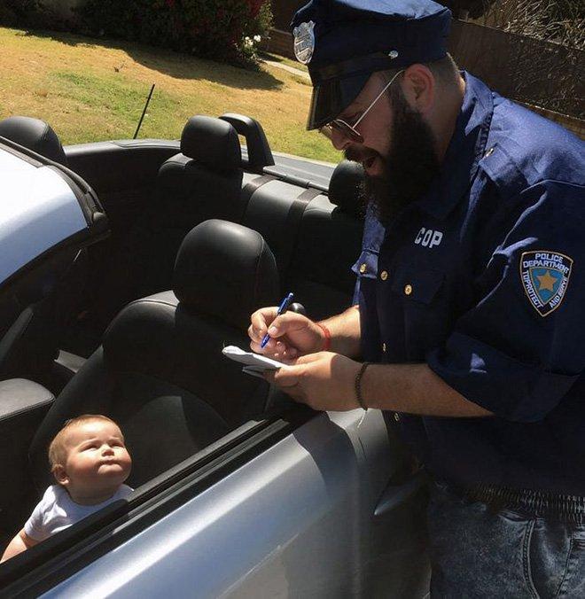 Sholom et zoé policier