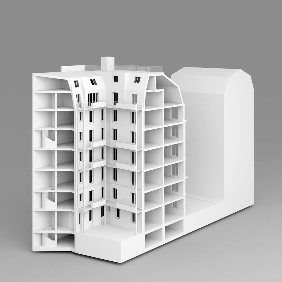 Caracteristique D Un Immeuble Haussmannien neufville-gayet architectes » reha2