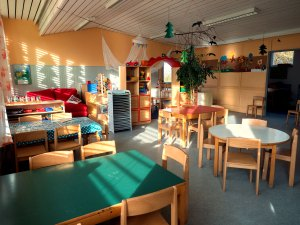 Kindergarten Flohkiste Springflohgruppe Gruppenraum