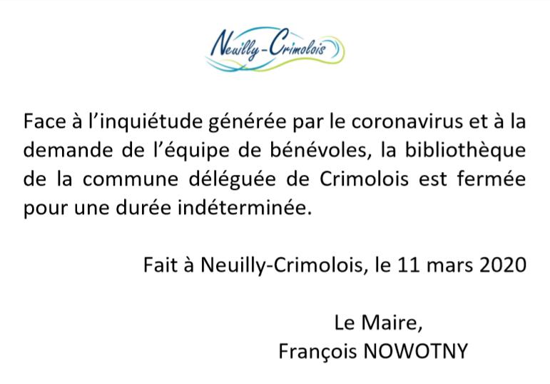Bibliothèque Crimolois