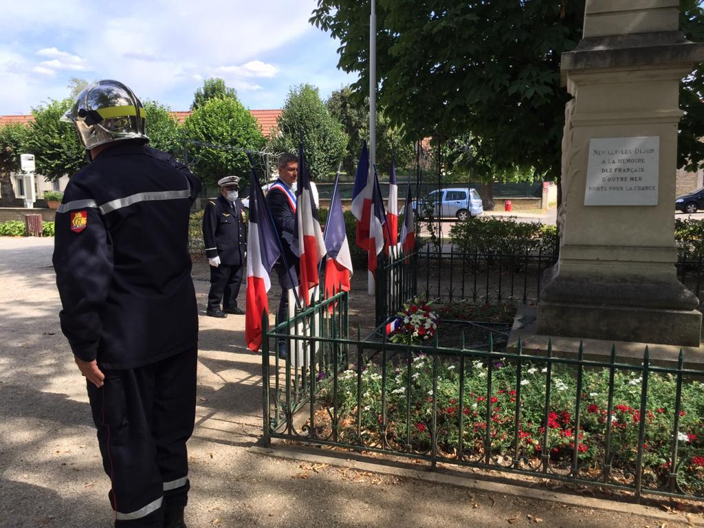 Cérémonies du 14 juillet à Neuilly-Crimolois : Retour en images et vidéo.