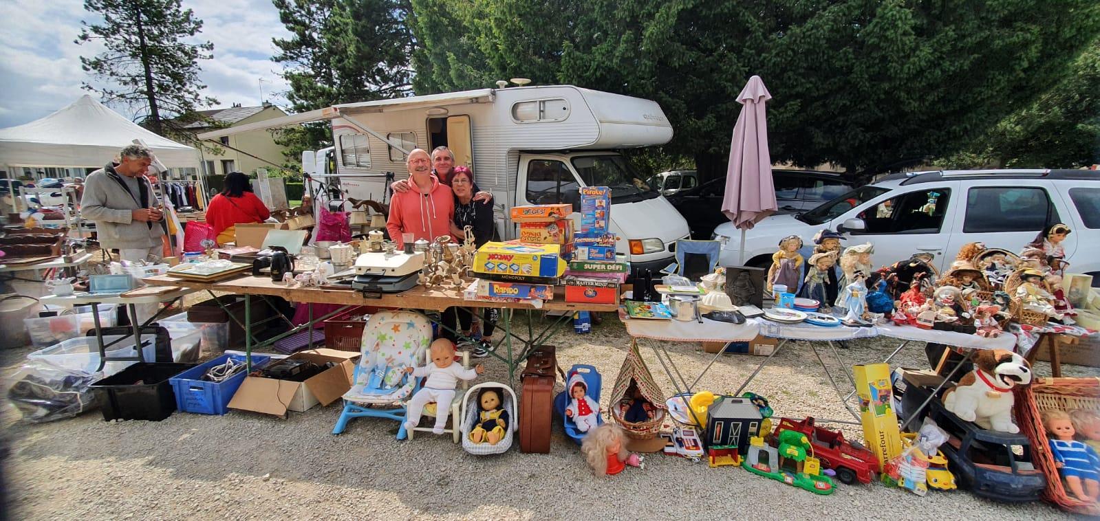 Read more about the article Vide greniers de la CSF Place de Mommenheim… vous êtes attendus !