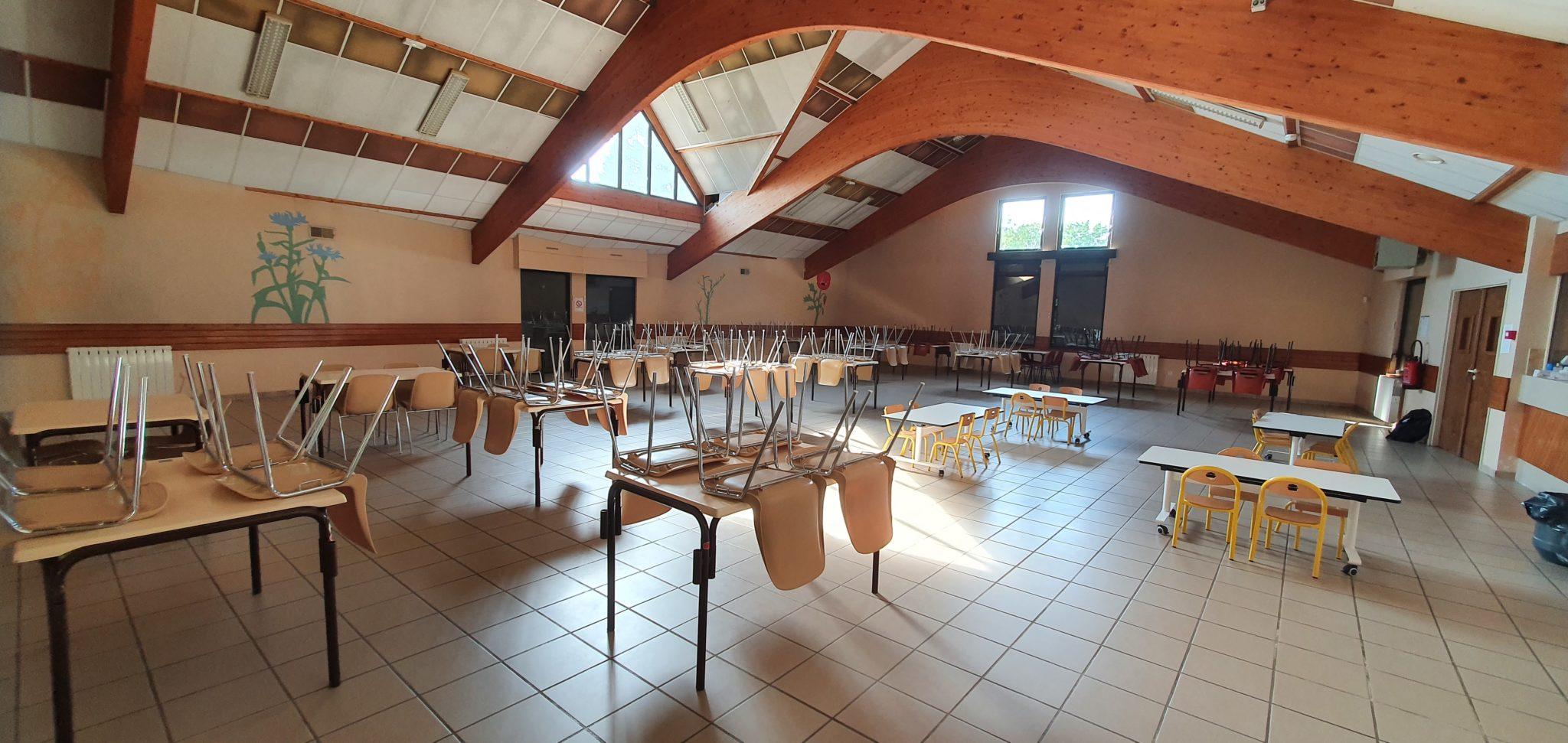 Read more about the article Restauration scolaire à Crimolois… nos têtes blondes seront plus à l'aise.