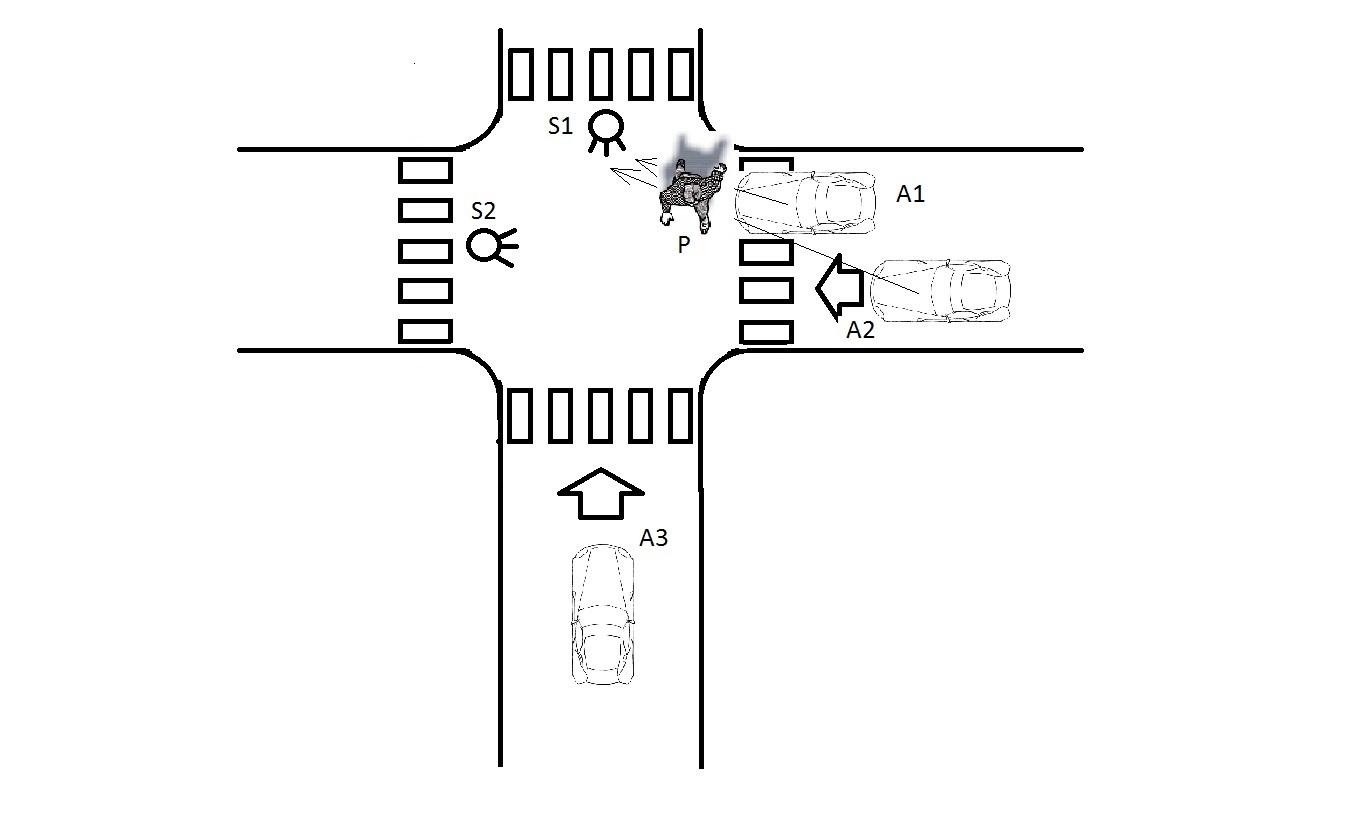 Semaforo Mal Instalado Contribuye A Los Accidentes