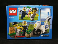 Lego City Crook Pursuit Box - Rear