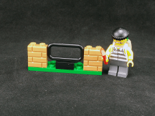 Lego City Crook Pursuit Crook & Wall