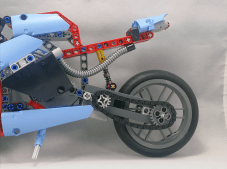 Lego Technic #42036 Street Motorcycle Rear Tire