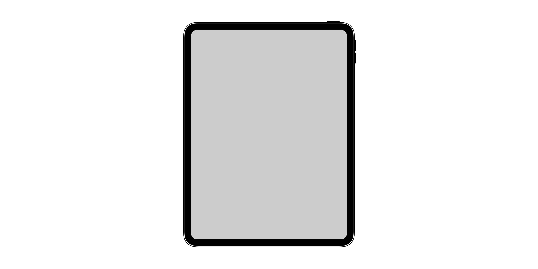 iOSに「ホームボタン・ノッチなし」ベゼルレスのiPad Proアイコンが発見される