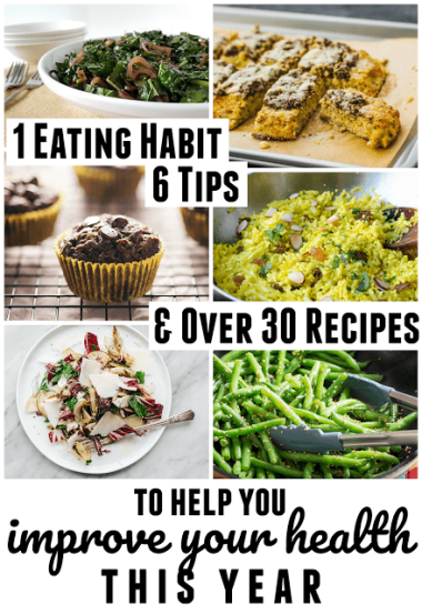 Popular diets differ in the amount of protein and fat they recommend, but all of the diets supported by research recommend one thing: plenty of low carb vegetables. That one eating habit really can improve your health! If that's one of your goals this year, set yourself up for success by checking out these six tips and over 30 recipes!