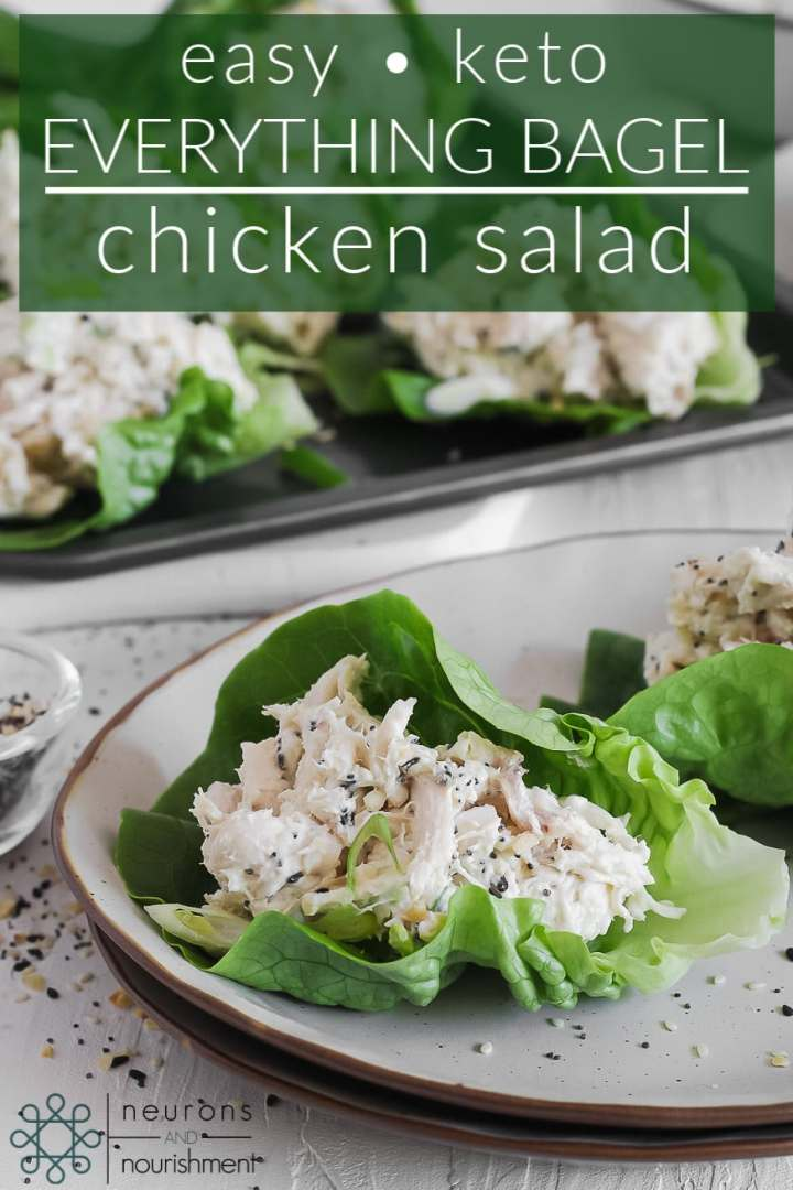 Easy Keto Everything Bagel Chicken Salad