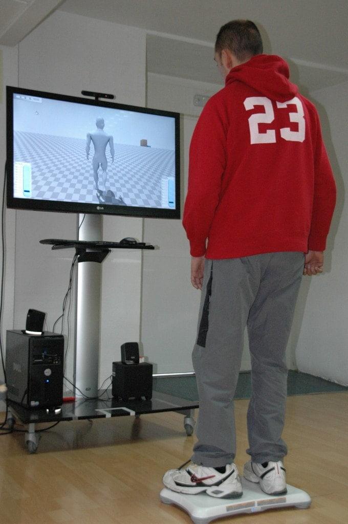 Wii Balence Board para la rehabilitación del equilibrio