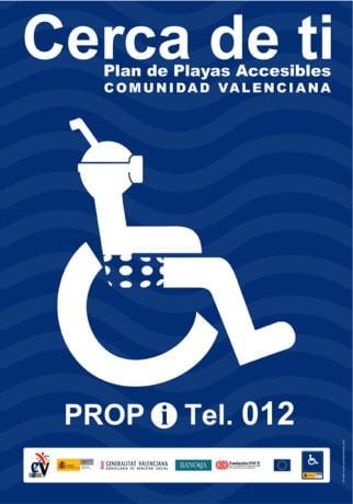 playas de la comunitat valenciana de turismo accesible